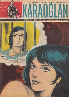 KARAOĞLAN Haftalık GençlikveKahramanlık Dergisi Sayı 184 Dağlar Benimdir 09.08.1967 - Çizgi Roman Diyarı