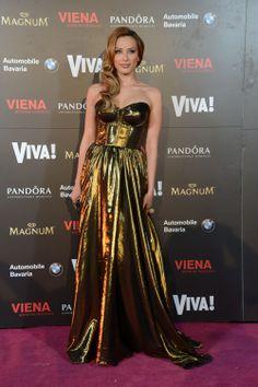 Iulia-Vantur-(rochie-Cristina-Savulescu) Cristina Savulescu, Strapless Dress Formal, Formal Dresses, Wedding Dresses, Outfits, Closet, Style, Fashion, Vestidos