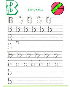 Free handwriting letter worksheets Preschool Writing, Preschool Ideas, Teaching Ideas, Free Handwriting, Learning Time, Alphabet Worksheets, Holidays With Kids, Home Schooling, Cursive