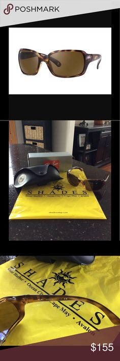 5989a42761c6c Ray Ban RB 4068 Polarized Brand new, never worn Ray Ban RB 4068 polarized  sunglasses