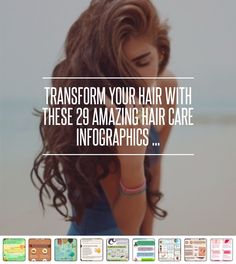 #Transform Your Hair with These 29 #Amazing Hair Care Infographics ... #Conditioning