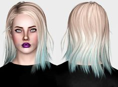 More hairs! In order: Butterflysims 112, Butterflysims 123, Raon 85 (Cazy…