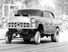 Vintage Drag Racing - 55 Chevy Gasser