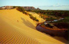 Diferenciada de outras dunas do Brasil, Jalapão fica no meio do cerrado brasileiro. Lá se formam dun... - Fornecido por Guia da Semana