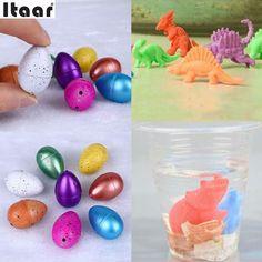 Magia Crescere Dino Uovo di Dinosauro Cova Aggiungere Acqua Per Bambini Kid Toys Regalo
