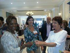 More of the Barbados Eyefortravel 2014 delegation (L-R) Averil Byer (Aplomb 360); Melissa Chalbaud (Oceans Two Resort) and Susan Springer (Barbados Hotel & Tourism Association)