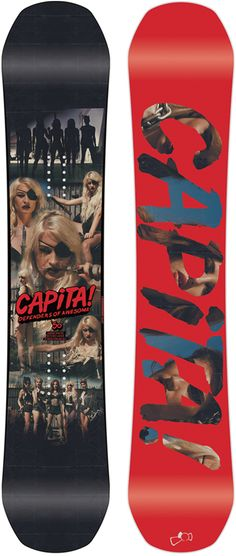 Capita Defenders of Awesome Snowboard - Men's Snowboarding - Winter 2015/2016 - Christy Sports