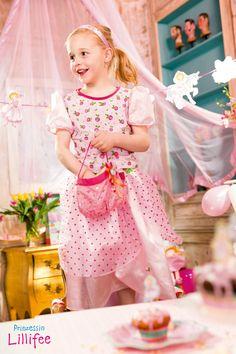 Ballkostüm Prinzessin Lillifee für Karneval, Fasching oder den nächsten Prinzessinnen-Geburtstag.