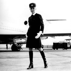 Air France, Christian Lacroix, Diana Vreeland, Air Hostage, 70s Fashion, Vintage Fashion, Louis Féraud, Parka, Jean Patou