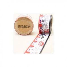Cinta adhesiva Washi Tape 30mm x 10 metros DS-100