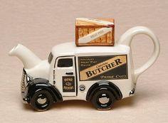 Butchers Van, One Cup Teapot