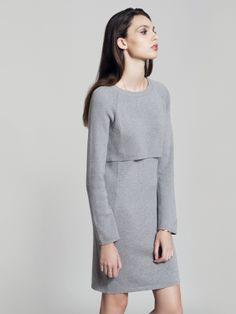 Metalicus L/S Knit Dress  #winterdressing #metalicus