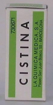 """La cistina es el aminoacido que junto con la biotina (vitamina B5), zinc y hierro, contienen casi todos los compuestos para """"caída del cabello y/ó uñas debilitadas"""", sólo que muchíííííííííííííísimo más barato, aproximadamente 6€."""