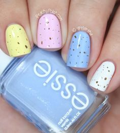Mini Eggs Nails