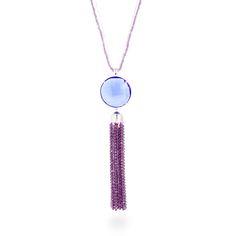 Vic necklace Blue #LuxenterJoyas #LuxenterSilver