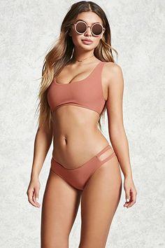 Side-Strap Bikini Bottoms