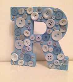 #wooden #buttons #letters #initial £11.99 #family.life #gift #freestanding