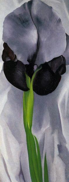 Georgia O'Keeffe - Iris (1929) WOW INCREDIBLE <3
