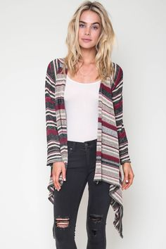 Goddis Linsey Hooded Wrap w/ fringe & Naples Wrap in Conga Pink
