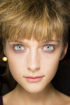 Backstage Beauty: Hair & Make - Up from Rochas spring/summer 2014 Paris Fashion Week 2013