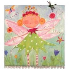 Your little girl loves fairies? Give her a few (or a bunch!) to decorate her bedroom with. Bring in a few on the walls, maybe some on the floors,...