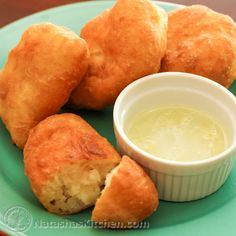 These are dangerously good! You must exert some self-control. Potato pirojkiare one thing, but paired with the garlic dip… Oooh baby! I hope you do try these pirojki. They truly are one of my very favorite treats. Ingredients for the Dough: 1 1/2 Tbspoil 15...