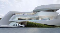 Architecture Plan, Residential Architecture, Contemporary Architecture, Koshino House, Modern Villa Design, Modern Mansion, Luxury Homes Dream Houses, Dream Home Design, Modern House Plans