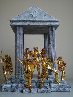 Cenário Diorama Saint Seiya Cavaleiros do Zodíaco Caballeros del Zodíaco Cloth Myth Ex