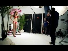 Super model commercial. Let´s see some beaty :)