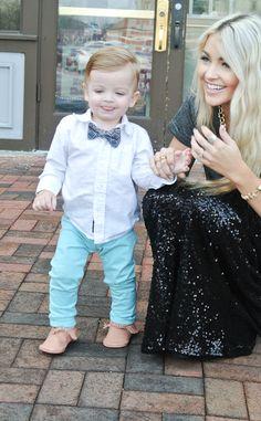 Cara Loren mom baby mother child street style fashion blog