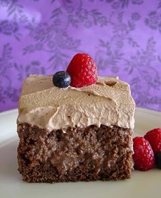 Chocolate Tres Leches Cake!!