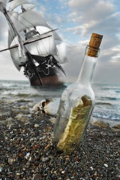 MESSAGE IN A BOTTLE.....