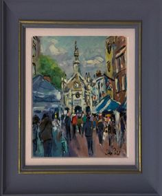 Buy Market Day in Chichester, Oil painting by Andre Pallat on Artfinder. Discover thousands of other original paintings, prints, sculptures and photography from independent artists.