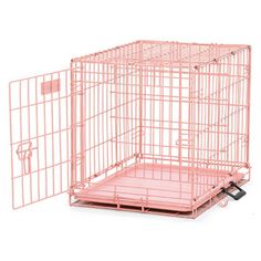 MidWest Homes for Pets Dog Crate Small Dog Breeds, Small Dogs, Pink Dog Crate, Portable Dog Crate, Hairless Dog, Crate Training, Pet Furniture, Pet Home, Single Doors