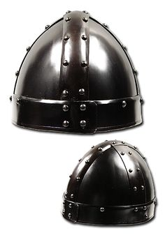 Spangenhelm Thorstein, black-finished - Helmets & Coifs - Plate & Chain Armour - Armour