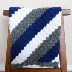 crochet baby boy blanket patterns - Google Search                                                                                                                                                      More