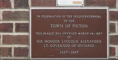 The Picton Library is one of 125 libraries built in Canada by American industrialist Andrew Carnegie, one of the richest men in the world at the turn of the 20th century.  #livinghistory #thisdayinhistory #historymoments