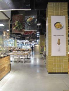 [마케팅/MD/VMD] 일산 이마트타운 피코크키친 후기 / 신개념 푸드코트 피코크키친 탐방기 : 네이버 블로그 Cooking Stores, Signage, Liquor Cabinet, Branding Design, Food And Drink, Restaurant, Kitchen, Furniture, Menu