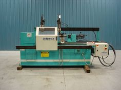 Intorex Model TI-1600 Hydraulic Copy Lathe - used to create ornate wooden spindles