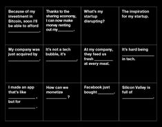 With all the hostility between techies and tech-haters lately, an ice breaker is long overdue. Not to worry, San Francisco, I'm on it. Introducing Cards Against Humanity: Tech Edition. Cards Against Humanity Printable, Cards Against Humanity Online, Cards Against Humanity Expansion, Disney Cards, Disney Disney, What Do You Meme, Sharing Economy, Interesting Reads, Funny Cards