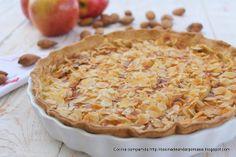 Cocina compartida: Tarta - flan de manzanas con almendras fileteadas (Tradicional y Thermomix)