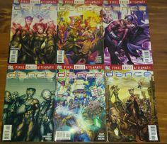 Final Crisis Aftermath Dance #1-6 Set lot (2009) DC Comic Books Joe Casey