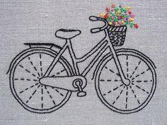 Kit Bordados da bicicleta do vintage                                                                                                                                                                                 Más