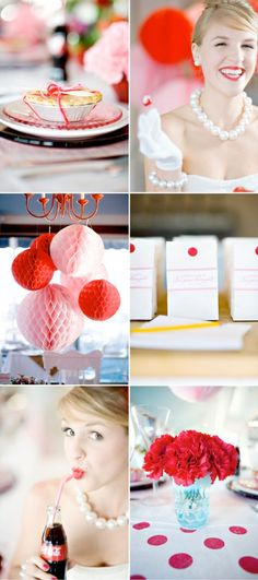 i think a 1950's theme wedding would be adorable :)