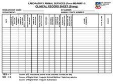 printable dog health record template .