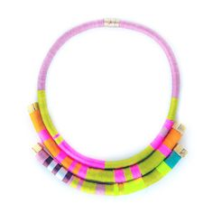 Hand-Wrapped Necklaces  by Isabel Becerra - Spacio Terreno