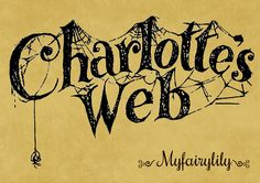 charlotte's web templeton the rat Charlottes Web Activities, Web Google, Charlotte's Web, American Children, Typography, Lettering, Little Pigs, Children's Literature, Reading Comprehension