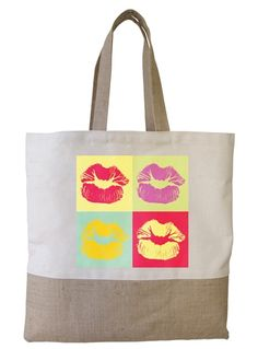 Kiss me in colour  by JuteColab  $21.99
