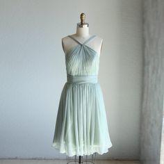 mix match bridesmaid dresses / Romantic / Mint Blue by RenzRags