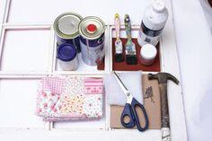 Reciclagem de janela antiga - Portal de Artesanato - O melhor site de artesanato com passo a passo gratuito